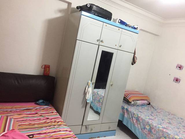 Female Share room Near Yew Tee Mrt SGD350/pax (6th Feb 2018)