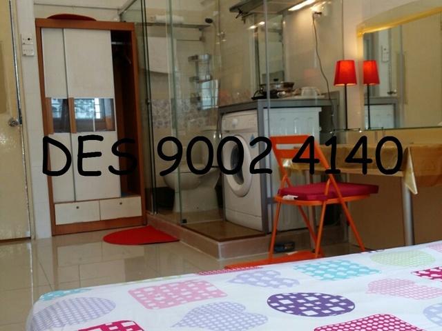 No agent fees! Studio near Bugis/Lavendar MRT, FREE SCV TV Program & High Speed wifi