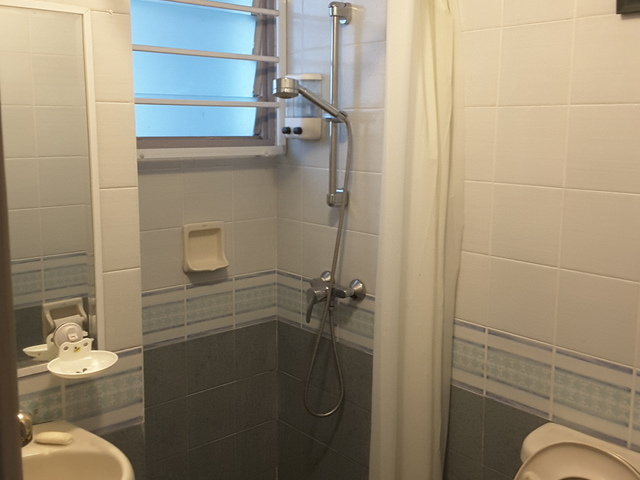 Aircon room with own toilet