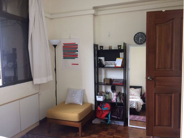 Spacious common room in great location!