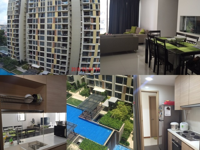 Newly Condo - Common Sharing Room for Male by 1st May - SGD500mo